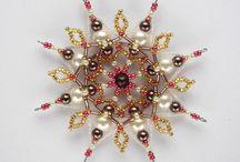 Perler stjerner engler advent jul