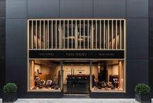 luxury shop front