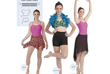 Dance and Active Wear Sewing Patterns