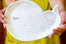 Animal Ceramic Plates