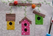 Birds and birdhouses / Birdhouse