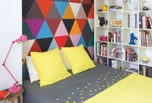 Bold Colors / We love a bold color choice in a room. Share your favorites with us as well as your favorite color trends.
