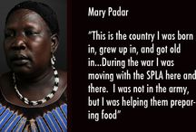 Women of ROOTS South Sudan / These are the women's stories from the Centre in Juba, South Sudan.