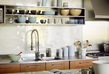 Kitchens / Modern, urban, contemporary, minimalist, and otherwise cool kitchens.