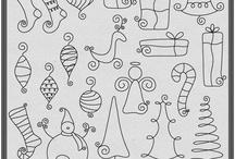 Doodles, raam tekenen