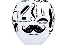 Mustache Themed Birthday Party Ideas, Decorations, and Supplies