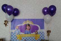 Princess Sofia Party / 3 yaş doğumgünü partisi/3rd birthday party