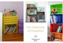 Diy Intérieur / Une sélection de créations Diy pour votre intérieur. Plus d'infos sur mon site http://ambiancediy.fr