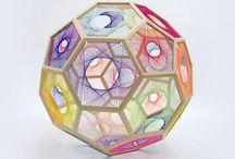 VAP1 Sculpture Tetrahedron and Icosahedron Research