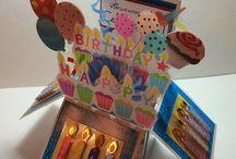 carte boite anniversaire