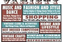 Vintage Markets, Fairs, Shops and Events