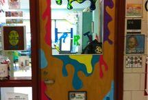 Art Room Door Decorations / by Danelle Foster