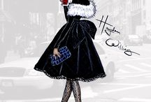 Fashion Illustrations / exactly what the name says / by Gwyndolyn Lynch