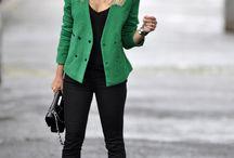 Looks in Green!!