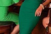 *vestidos verde