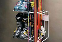 ski lockers / by Heather Smith