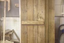 Earthwood reclaimed doors. / Reclaimed timber doors made from reclaimed timber all made to measure.  Starting from £75