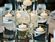 Candles and Centre Pieces / Great ideas for your Reception tables