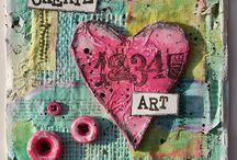 Art - Mixed Media / Tutorials, tips and ideas on how to create mixed media art for use in journaling, card making, decor and more.