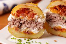 Potatoe Skins Burgers