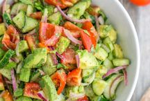 Avocado Salads / Delicious avocado combinations