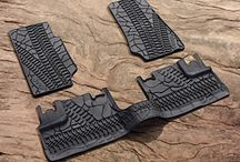 Jeep Floor Mats / JeepWorld.com carries a wide range of Jeep Floor Mats to protect the interior of your vehicle from the weather, children, pets, and you. It's always better to take the wear and tear on your set of Jeep Floor Mats than it is to your actual floor.