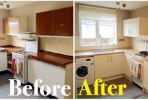 kitchen Makeovers - Before and After / See how our amazing make overs transform Kitchens and make them Happy!