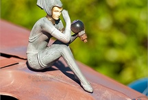 Unusual Hood Ornaments / Dare to be different with unusual hood ornaments!