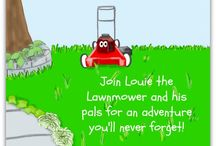 Louie's BIG day! / The first book in the Louie-the-Lawnmower series, Louie's BIG day! is about a bright red lawnmower who used to live at the hardware store with his friends. Now he's on his own and it's time to find out if he can do the job he was made to do. Join Louie for his BIG adventure and discover the surprise that awaits him at the end of the day!