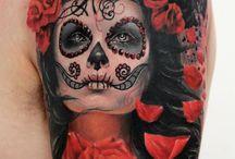 Sugar skulls and skulls / by Jamie Farina