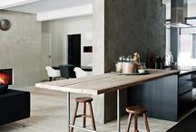cozinhas e mesas