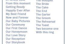 Scrapbook wedding