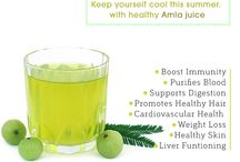 6 Reasons why you should have Amla juice this summer! / 6 Reasons why you should have Amla juice this summer!  1. Amla juice is full of Vitamin C, and also rich in iron, calcium, phosphorous and hence can be taken as a complete nutritional summer drink.   2. Amla juice is a amazing home remedy for cough and mouth ulcers. Two teaspoon of amla juice with equal components of honey eaten daily can help to relieving cold and cough. Mix a few teaspoons ... Seemore https://goo.gl/n8Jfba