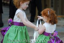 St. Patricks/Irish Weddings / Great wedding ideas and flower girl dresses for St. Patrick's Day or Irish weddings - green flower girl dresses. Pegeen.com is a manufacturer of flower girl dresses & boys suits - Infants to Plus Size. 200+ colors in Silk. Headquartered in Orlando FL .. 1 mile from Disney!! 407.928.2377
