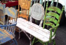 Up cycled furniture home decor