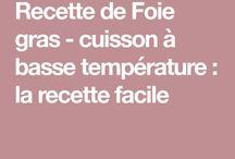 recettes foie