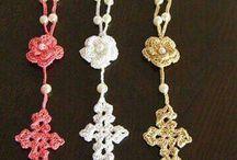 rosarios de ganchillo