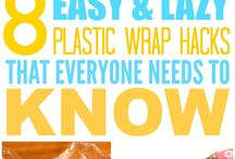 Plastic wrap hacks