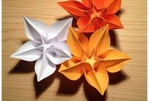 Origami / Origami is one of history's oldest papercraft trends, originating in China in 105 A.D. It can be used to create beautiful designs and with practice and patience, any crafter can utilise this fantastic papercraft.