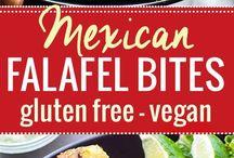 Falafel/kasvis
