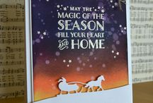 Stampin Up Sleigh Ride Edgelits