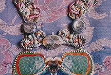 Alex and Lee / Highly original, intricate jewelry creations by the inimitable duo.   Very prominent on couture runways in the 80's