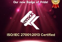 Kenscio awarded Prestigious ISO/IEC 27001:2013 Certification
