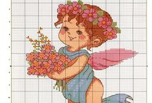 Cross Stitch: Angel