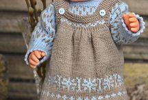 Puppenbekleidung stricken