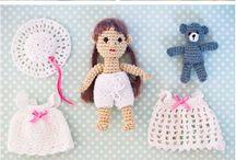 Bonecas crochet