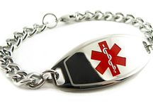 Coumadin Bracelet / We specifically make Coumadin ID bracelets, for your safety. Our black engraving on Coumadin bracelets is the best for doctors and paramedics to read. Engraving is the most important part and we specially make our black engraving highly visible on all of our bracelets.