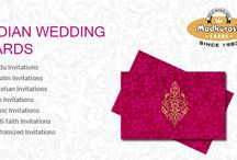 CUSTOMIZED WEDDING CARDS / Customized Invitations as per your requirement