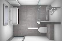 kleine badkamerHuisdecoratie