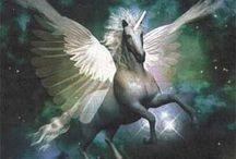 Fantasy : dragon licorne phoenix and cie / animaux fantastiques et archétypales ... Ils sont des représentations les plus anciennes d'énergies. Les apprivoiser c'est maitriser ces puissances de vie. / by E M 888